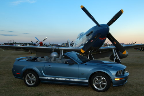P-51 Mustang at Oshkosh 2005