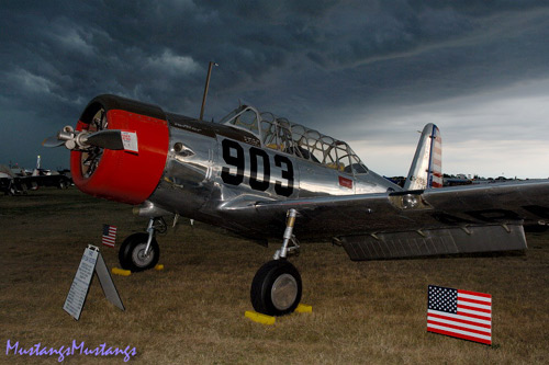 P-51 Mustang at Oshkosh 2006